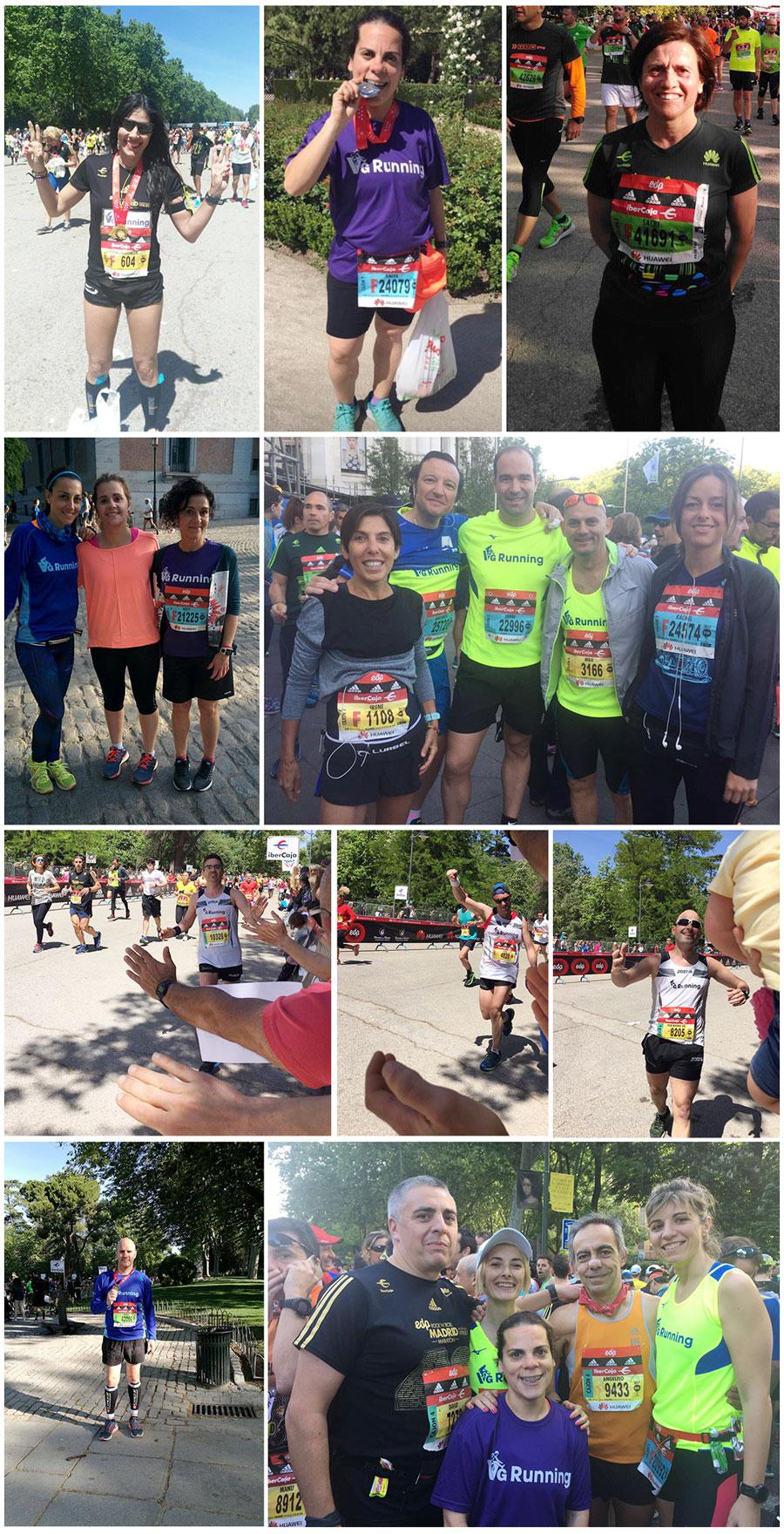 VGRunning - Maratón Madrid 2017