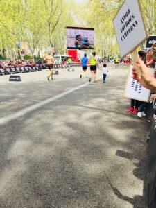 Maratón Madrid - Meta