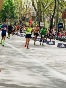 Maratón Madrid - Llegada