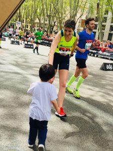 Maratón Madrid - Con Diego
