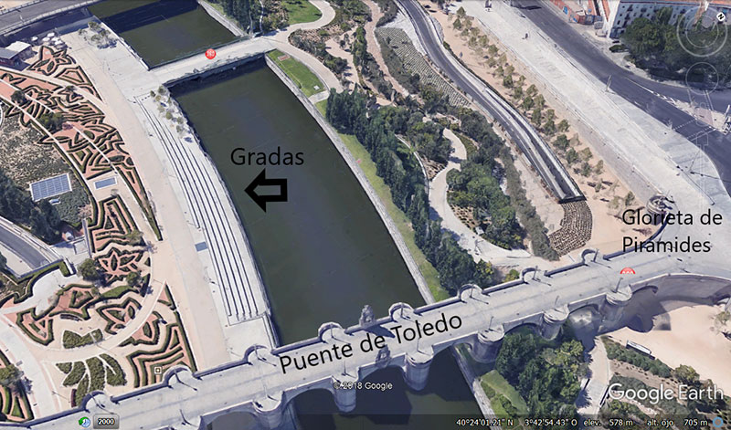 Gradas - Correr Madrid Río