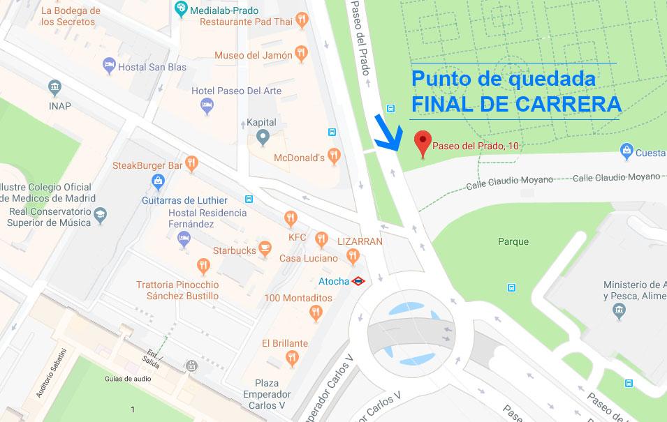 Punto Meta - Maratón Madrid