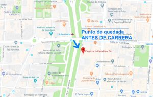 Punto Salida - Maratón Madrid