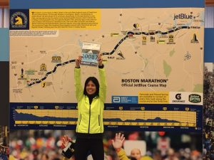 Maratón Boston - Dorsal