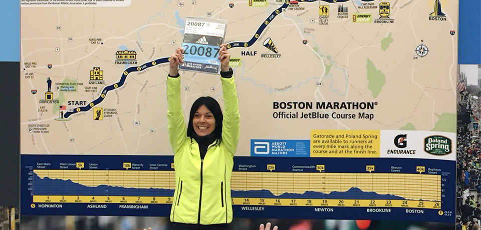 Maratón Boston - Sanchez Vidal, Laura